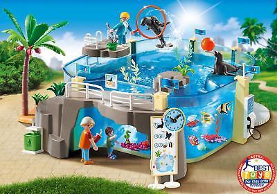 Playmobil #9060 Aquarium Building Set  - NEW