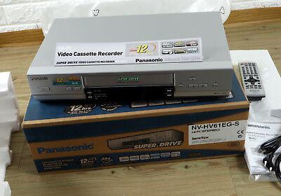 RARITÄT NEU PANASONIC VHS VIDEOREKORDER NV-HV61EG-S new video cassette recorder