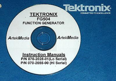 Tek Fg504 Opsservice Manual High Low Serial 2vol