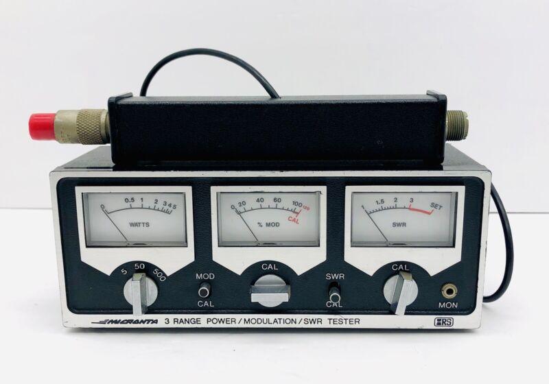 Micronta Radio Shack Vintage 3 Range Power / Modulation / SWR Tester