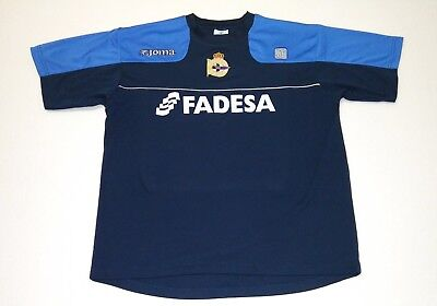 e377ccea718 Real Club Deportivo de La Coruña JOMA SPAIN ESPAñA FADESA JERSEY MEDIUM M L  S XL
