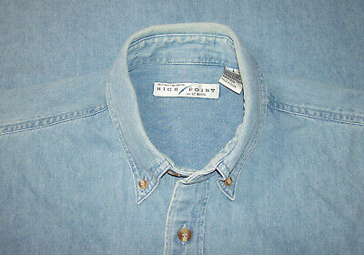 Chemise en jean high point (usa), taille l --- (cj_203)