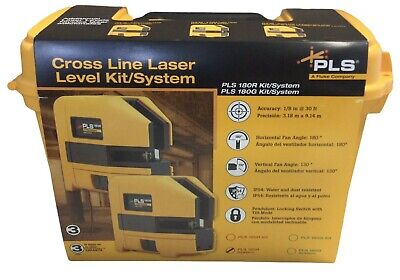 Pacific Laser Systems Pls 180r Sys Red Laser Cross Line System