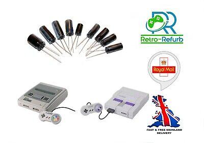 Super Nintendo SNES Recap Kit Capacitor Replacement Repair SNSP-CPU-01 CPU-02