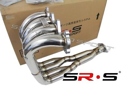 SRS H2B header Tri-Y step collector design H22 with B series trans engine swap for sale  Shipping to Canada