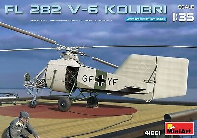 Miniart 1/35 Fl 282 V-6 Kolibri Helicopter #41001 *New release* for sale  East Brunswick
