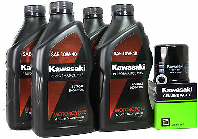 2006 KAWASAKI NINJA ZX-10R OIL CHANGE KIT