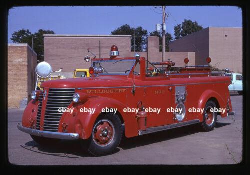 Willoughby OH 1942 American La France pumper Fire Apparatus Slide
