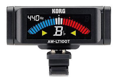 Korg AW-LT100T Clip On Tuner Stimmgerät Bläser Display Trompete Shuttle Schalter