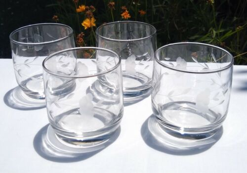 Princess House HERITAGE ~ Juice or Cocktail Glasses