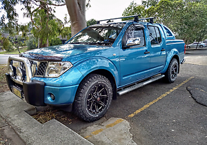 2007  Nissan Navara ST-X D40 Auto Dual Cab. Raby Campbelltown Area Preview
