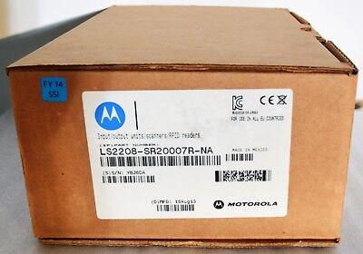 New Motorola Zebra Symbol Ls2208 Usb Barcode Scanner Set Ls2208-sr20007r-na