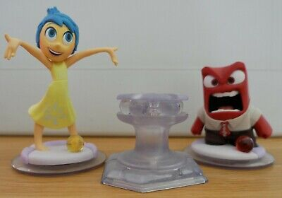 Disney Infinity Inside Out Characters and Playset