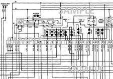 1981 81 PORSCHE 928 Wiring Diagram b/w pdf   eBay