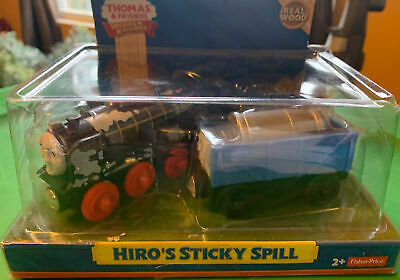 Thomas & Friends Wooden railway HIRO'S STICKY SPILL