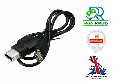 Original Xbox Controller To USB PC Adapter Converter Cable - UK Seller