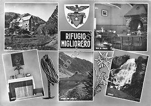 Cartolina-Postcard-Vinadio-Rifugio-Migliorero-Vedutine-anni-039-60