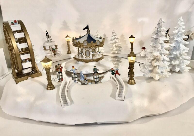 Christmas Magic Winter Wonderland Replacement Full Working Set Excellent