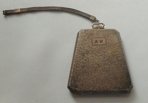Vintage Coin Compact Dance Purse International Sterling Silver