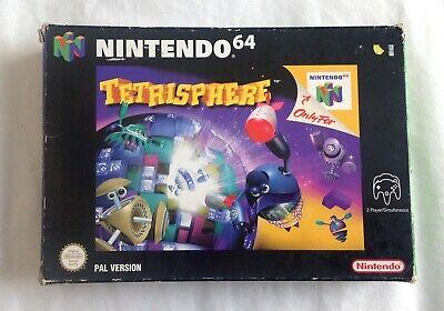 Tetrisphere Nintendo 64 Game N64 Boxed Complete