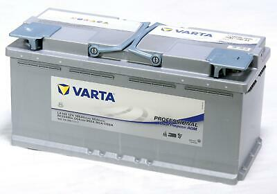 Varta Professional Dual Purpose AGM LA105 AGM-Batterie Starterbatterie 790721 Marine-starterbatterie