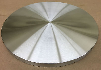 "STOVE HEAT DIFFUSER PLATE ALUMINUM FLAT 8"" DIA. X 1/2"" THICK GAS, ELECTRIC *USA!"