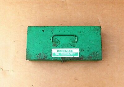 Greenlee Hydraulic Knockout Punch Set 7307