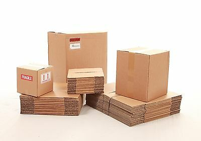 50 x Small Packaging Cardboard boxes 7