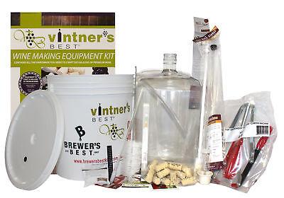 #3012BB Starter Winemaking Equipment Kit w/ Better Bottle & Double Lever