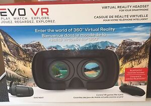 New virtual reality headset glasses for smartphone