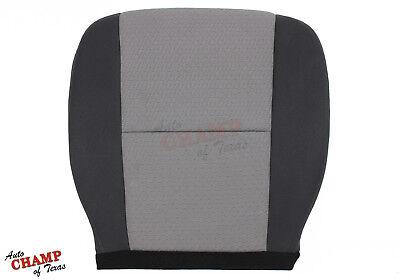 2008 Chevy Silverado 1500 2500 -Driver Side Bottom Cloth Seat Cover Black Gray
