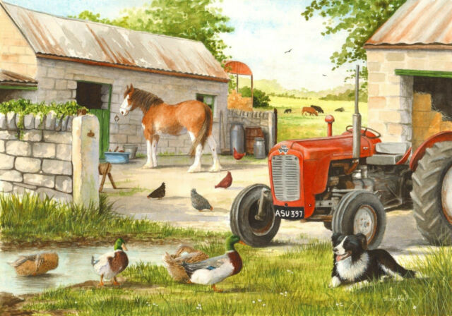The House Of Puzzles - 250 BIG PIECE JIGSAW PUZZLE - Dog & Duck Big Pieces