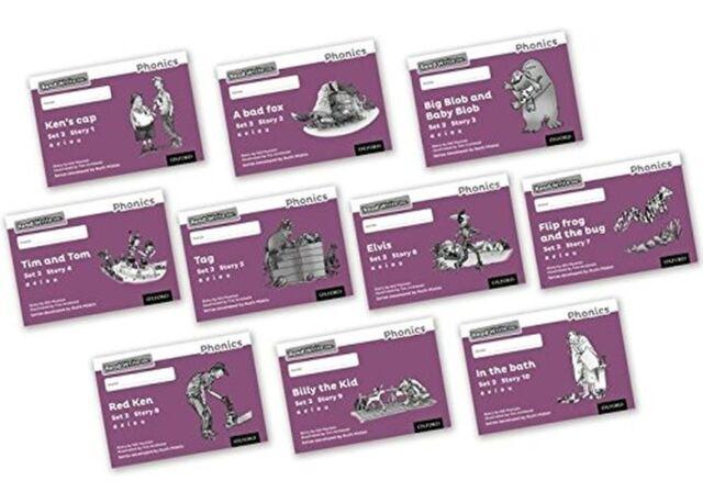 Read Write Inc. Phonics: Black and White Purple Set 2 Storybooks Mix... NEW BOOK