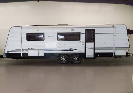 2010 Paramount Utility Semi Offroad Luxury Caravan Regency Park Port Adelaide Area Preview