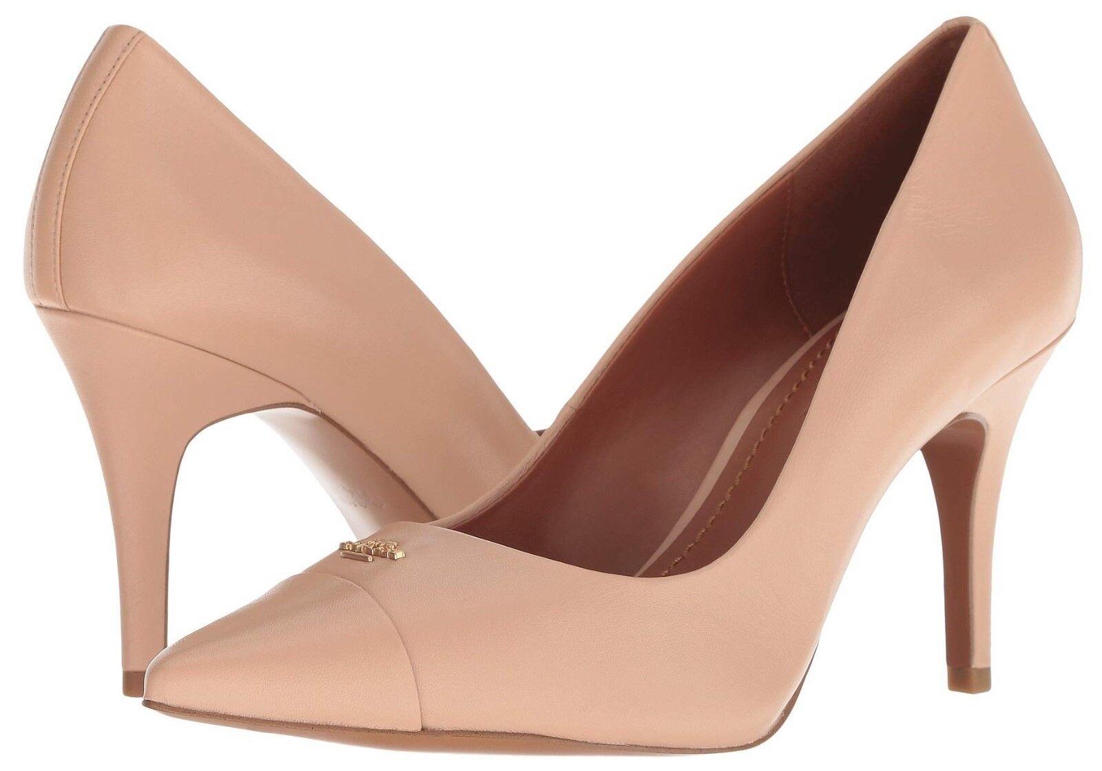 COACH Patrice Leather Pump Women's Pumps Heels Casual Dress Classic Shoes NIB