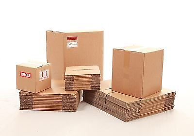 25 x Small Packaging Cardboard boxes 8