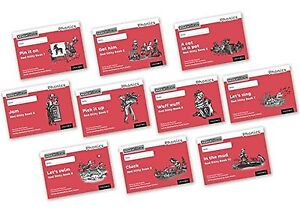 Read Write Inc. Phonics: Black and White Red Ditty Books Mixed Pack of 10 NEW