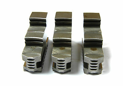 Scroll Chuck Outside Jaws- 3 Pieces For 3 Jaw Universal Chuck A-5-6-3-8