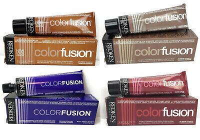 Redken Color Fusion Advanced Performance Cream Hair Color 2.1 oz. (Redkens Hair)