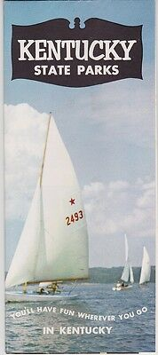 1950's Kentucky State Parks Promotional  Brochure