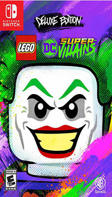 LEGO DC Super-Villains Deluxe Edition NSW New Nintendo Switch,Nintendo Switch