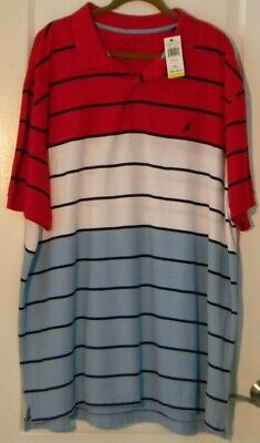 MENS NEW WITH TAG NAUTICA 3XL PERFORMANCE DECK SHIRT