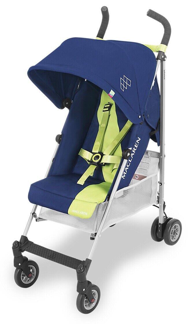 Maclaren Triumph Baby Lightweight Umbrella Fold Stroller Med