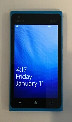 GREAT CONDITION TESTED BLUE GSM AT&T NOKIA LUMIA 900, 16GB  B00F
