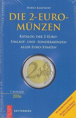 Battenberg - Katalog: Die 2-EURO-Münzen, 7. Auflage, 2016