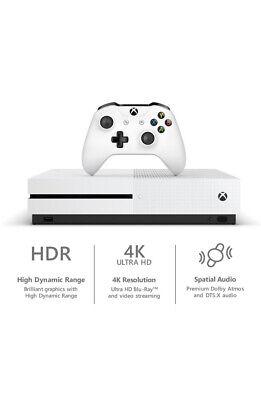 Microsoft Xbox One S 1TB Console - White New Xbox 1 S Fast Shipping Xbox 1 S New