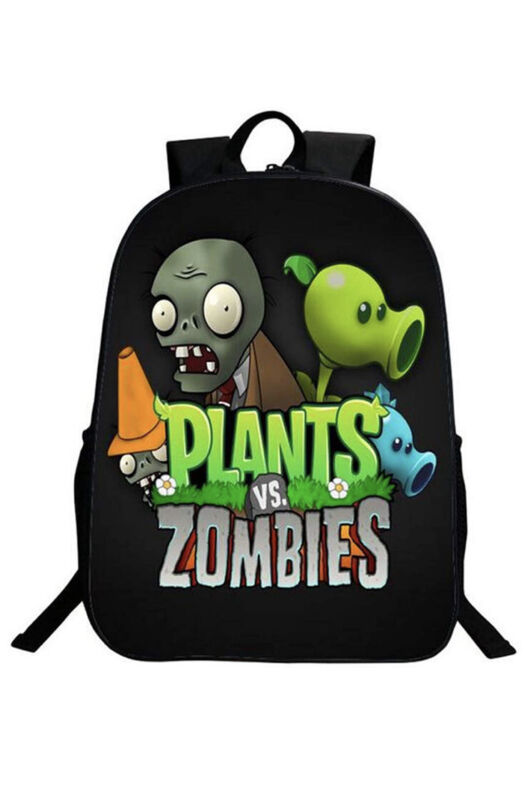 NWT Plants Vs. Zombies Backpack/Daypack Child Youth/Teen -Unisex