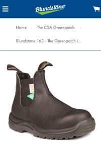 BLUNDSTONE Ladies Steel Toe Safety Boots- Reduced $150!