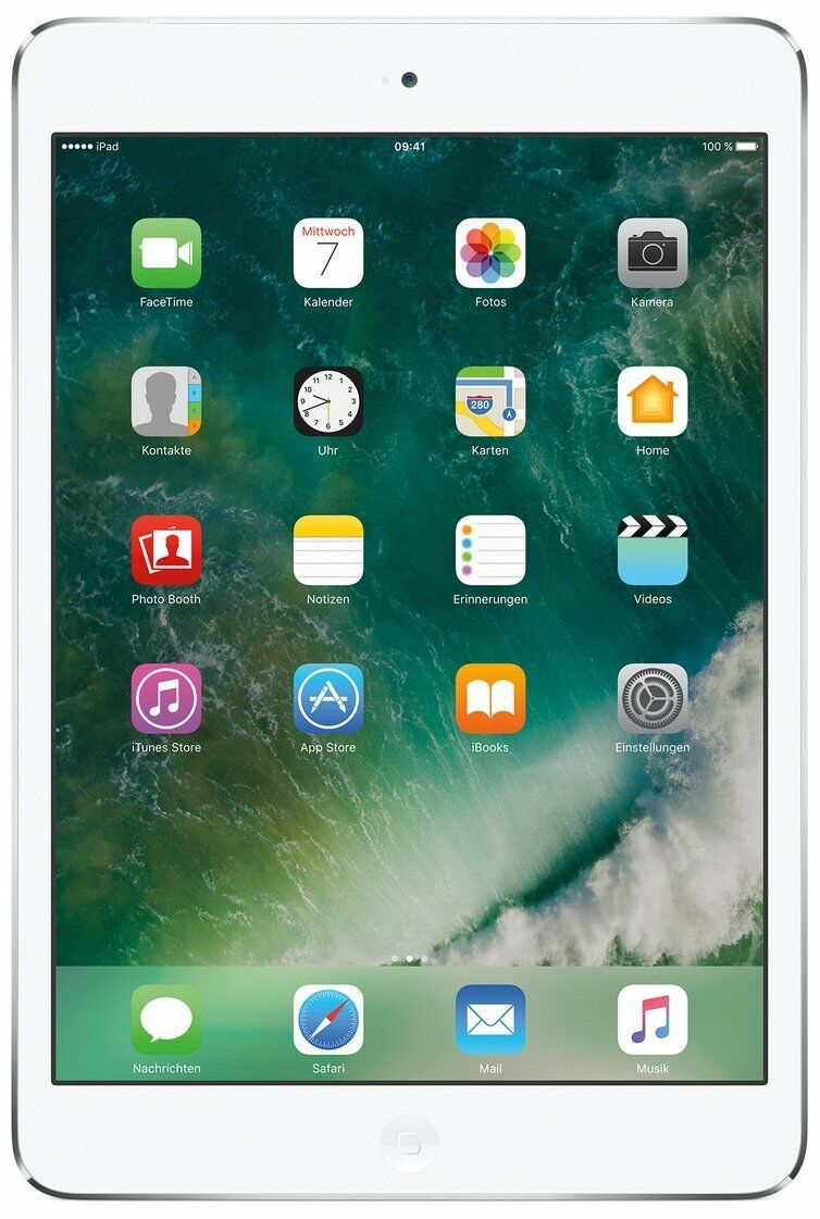 Apple iPad mini 2 WiFi+Cellular iOS Tablet PC ohne Simlock Display Kamera silber
