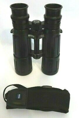 ZEISS Dialyt 7 x 42 B / GA T* Rubber Armoured Roof Prism Binoculars - Serviced